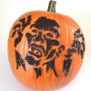 Zombie String Art Pumpkins - No Carve!