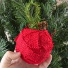 Rustic Christmas, Burlap Ornaments Tutorial