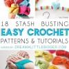 18 Stash Busting Crochet Projects