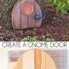 Create a Gnome Door - Outdoor Decor