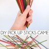Colorful DIY Pick Up Sticks