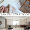 Easily Paint Cabinet Doors DIY