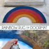 Rainbow Rug or Doormat