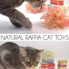 Natural Raffia Cat Toys Tutorial