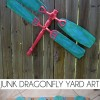 Junk Dragonfly Yard Art
