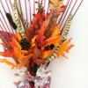 Fall Leaves Rake Wreath