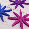 Clothespin Snowflake Ornaments