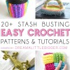 Stash Busting Crochet Projects