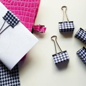 Coordinating Office Supplies - Cool Clips DIY