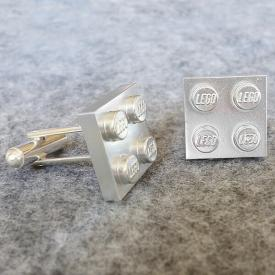 Delight Dorky Dads this Father's Day! - Lego Cuff-links Tutorial