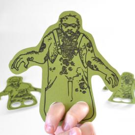 Free Zombie Finger Puppets