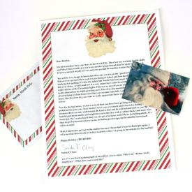 Letters from Santa Postmarked from the North Pole!