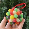 Gorgeous Yet Simple Gumdrop Ornaments at Mom Spark!