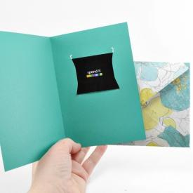Gift Card Giving Free Silhouette Cut Files