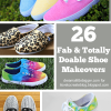 26 Amazing and Doable Shoe Makeovers - Roundup at iLTC!
