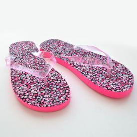 DIY Fabric Covered Flip Flops