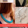 13 Modern Crochet Necklaces
