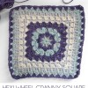 Hexi Wheel Granny Square – Afghan Crochet Along