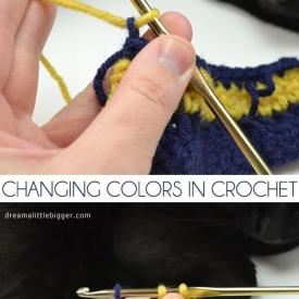How to Change Colors in Crochet