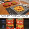 Quick Red Clam Sauce Recipe #VDayIn