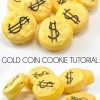Gold Coin Cookie Tutorial