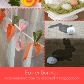 Easter Bunnies for all spaces and occasions