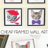 Super Cheap Wall Art for a Tight Budget