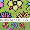 DIY Paper Suncatchers