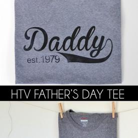 Daddy Est. 1979 Tee (easy to customize free cut file)