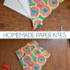 DIY Paper Kites - Simple Diamond Kite
