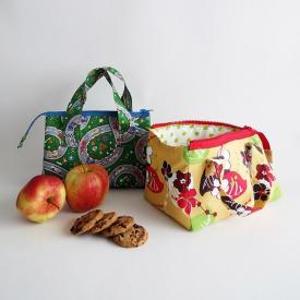 How to sew a kids lunch bag