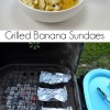 Grilled Banana Sundaes