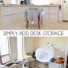 Simply Add Desk Storage
