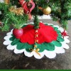How to make a no-sew Christmas tree skirt