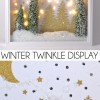 Winter Twinkle Display Tutorial + Silhouette Giveaway!!!