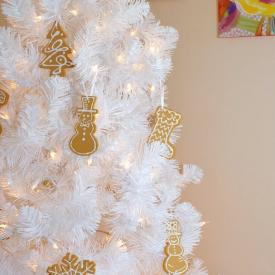 Faux Iced Cookie Ornaments