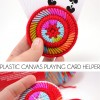 Plastic Canvas Playing Card Helper