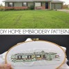 How to Turn a Home Into an Embroidery Pattern