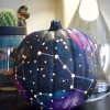 Galaxy Pumpkin - an Out of this World Jack-o-Lantern
