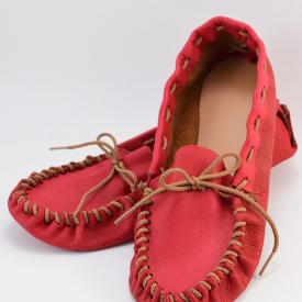 Make Leather Moccasins