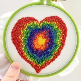 How to Make French Knots - Hand Embroidery Tutorial