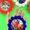Pompom Photo Ornaments