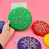String Art Snowflake Oversized Ornaments