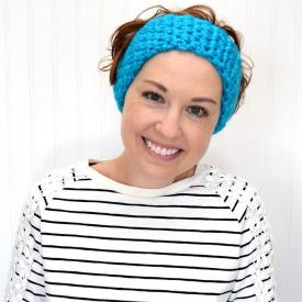 How to Crochet a Stretchy Ear Warmer