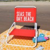 Cheeky Chairs - Applying HTV to Beach Chairs