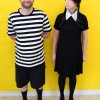 Wednesday and Pugsley Addams Family Halloween Costumes