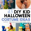 45 Amazing Kids Halloween Costumes