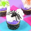 15-Minute Spiderweb Cupcakes for Halloween