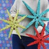 DIY Giant Clothespin Snowflake (20