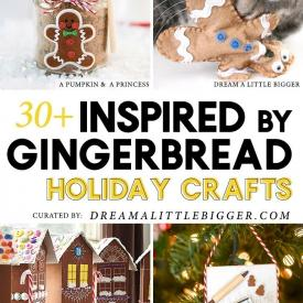 30+ Gingerbread Crafts